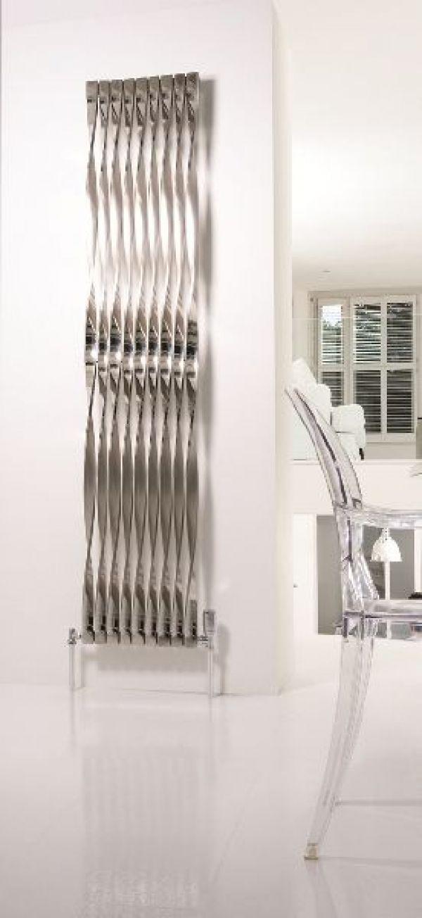 Radiateur chauffage central design vertical superbe - Radiateur electrique decoratif vertical ...