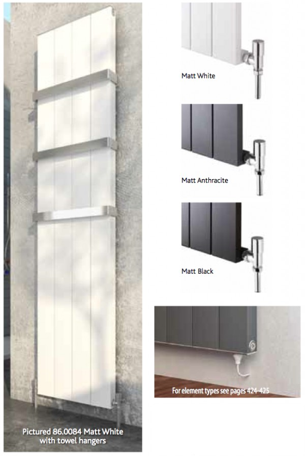 Vesima vertical radiateur design - Radiateur a gaz design ...